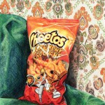 Cheetos - 5.6x7 - Coloured Pencil on Paper