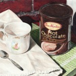 Hot Chocolate - 5.6x7 - Coloured Pencil on Paper