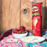 Pringles - 5.6x7 - Coloured Pencil on Paper